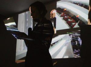 Laura Porter - Performance Collage City - Espace En Cours - 21/01/2017